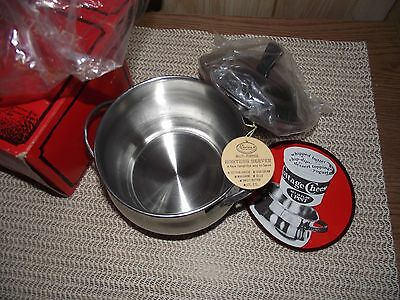Vintage Monterey Hostess Server Pot #5924 Stainless Holloware NIB With Tags
