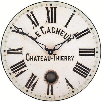 French Clockmaker's Dial with Pendulum - 41cm