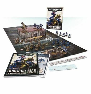WARHAMMER 40000: Know No Fear 40k Starter Set