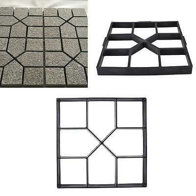 40cm Square Paving Mold DIY Making-Road Road-Mould Cement Lawn Paver Manually