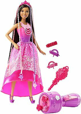 Barbie Endless Hair Kindom Snap n Style Princess Nikki Playset