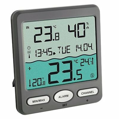 TFA Dostmann Pool Thermometer VENICE 30,3056,10, for Monitoring of Temperature a
