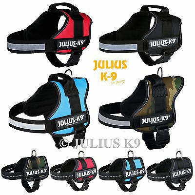 Julius K9® Power Harness Strong & Adjustable & Reflective, Many  Colours 4 Dogs