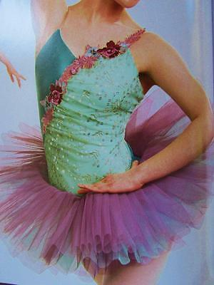 Live Moment Lavender Ballet ASM Pleated Curtain Call Costume