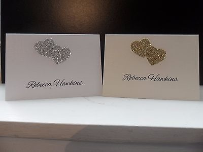 10 x A7 Place/Name cards ideal for Wedding/Christening /Anniversary etc..