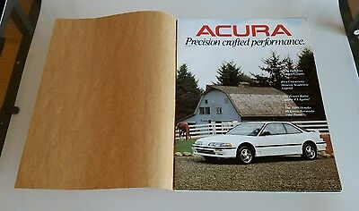 Rare 1989 Acura Precision Crafted Performance Magazine Integra Aero Kit