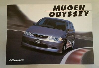 2000 Honda Odyssey Mugen Performance Catalog Brochure