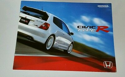 2003 Honda Civic Type R Catalog Brochure
