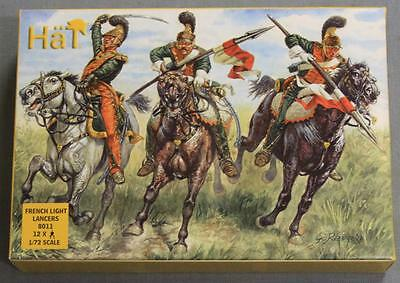 Hat 8011 French Light Lancers Model Figures NOS 1/72 Scale