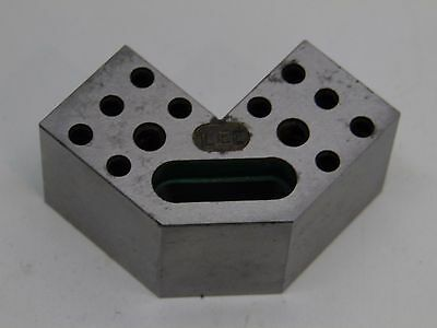 MACHINIST TOOL LATHE MILL Machinist Large Unusual v block clamping fixture