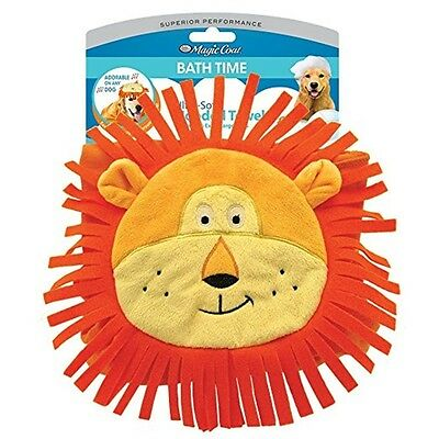 Four Paws Magic Coat Lion Hooded Bath Towel for Dogs - Large, XL - Free Shipping