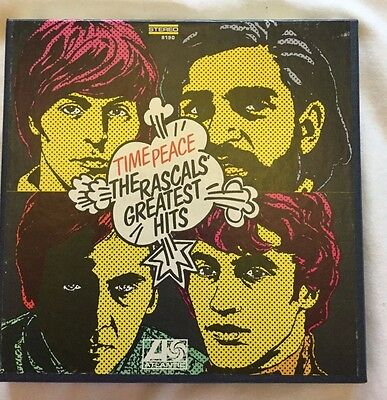 Time Peace The Rascals Greatest Hits  Reel Tape Fully Tested 7-1/2ips Near Mint