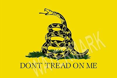 Don't Tread on me Made in the USA High Quality Metal Fridge Magnet 2.7 x 4 9077