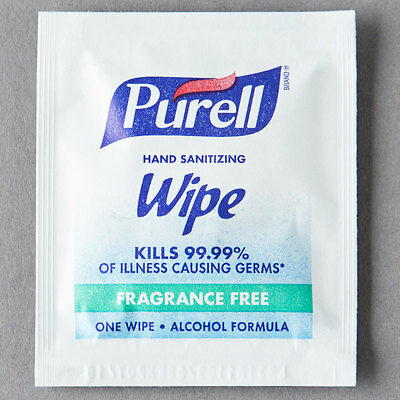 Purell 9020-4M Hand Sanitizing Wipes