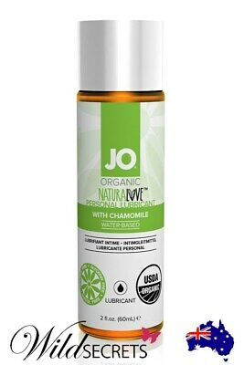 NEW System JO Organic Lubricant (60ml), Water Based, Sex Lubricant/Lube