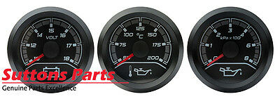 New Genuine Hsv Dash Gauge Kit Oil Voltage Part 12J110601P