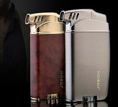 Butane Gas Smoking Pipe Lighter Jobon Metal Normal Flame Cigarette Cigar