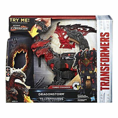 Transformers MV5 Last Knight 1-Step Turbo Changer Dragonstorm AU IN-STOCK