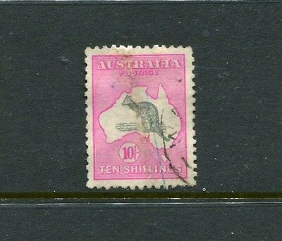 10/- Third Wm Good Used Inverted Wm Has Been Repaired