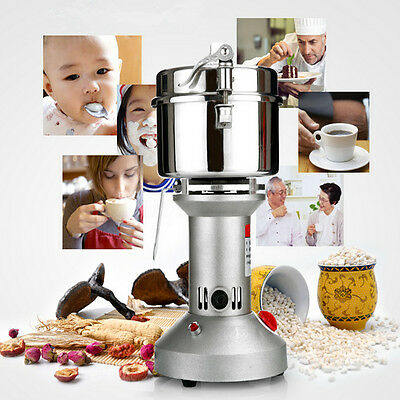 750g High Speed Medicinal Herb Cereal Electric Grinding Grinder Powder Machine