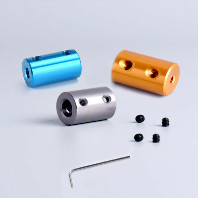 2/3/4/5/6/7/8mm Aluminum Flexible Shaft Coupling Rigid Coupler Motor Connector
