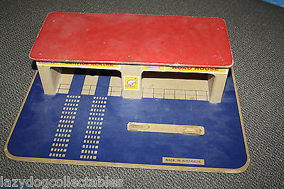 Vintage Australian Made Toy wooden garage Marandal Products