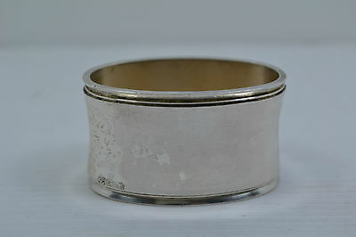 huge antique silver oval napkin ring German hallmarked 925 WTB  61 grams