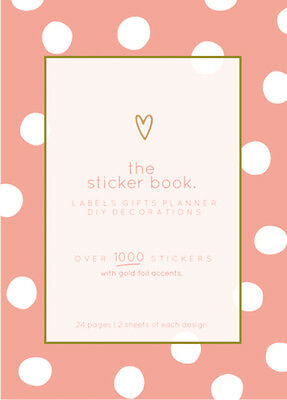 Kaiser Style - The Sticker Book - Bloom Over 1000 Assorted Stickers Kaisercraft