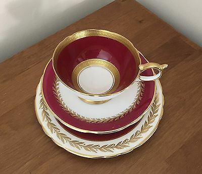 Aynsley Mixed Matched Trio Cup Saucer And Plate
