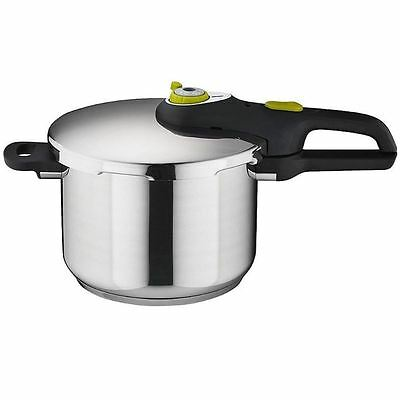 Tefal Secure - Neo 5 Stainless Steel Pressure Cooker 6Ltr