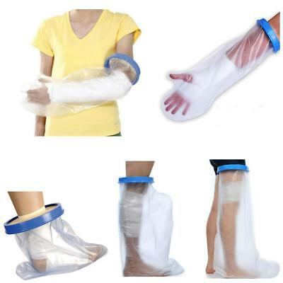 Adult Short Long Arm Leg Waterproof Cast Bandage Protector Cover for Bathing
