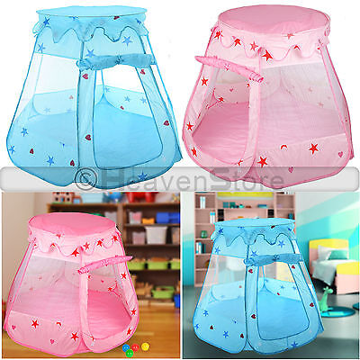 Childrens Kids Pop Up Baby Fairy Tent Ball Pit Fun Indoor Outdoor Playhouse Play
