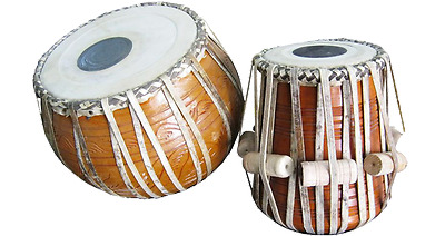 Tabla Clay Bayan Sheesham Wood Dayan Camel Skin Head High Quality Leather Strap