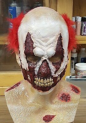 """""""STANKY THE CLOWN"""" Latex Mask for Cosplay / Halloween"""