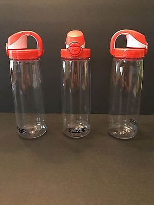 6e1be1a472 NEW! NALGENE TRITAN on the Fly Water Bottle with Orange & White Cap ...