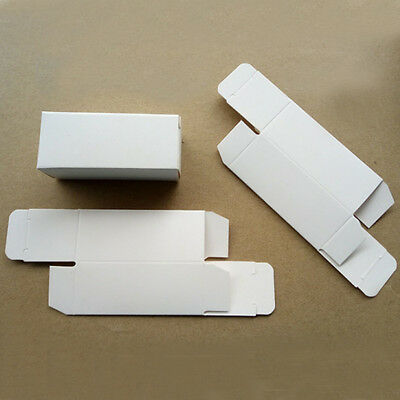DIY Convenient Protection Pack single 18650 battery package box white 10PCS