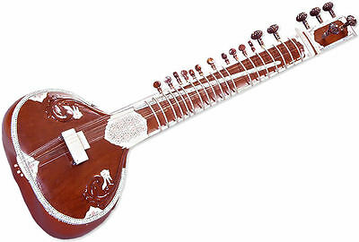 Brand New Single Thumba Classical Professional Sitar Pre-Insured Expedited Ship