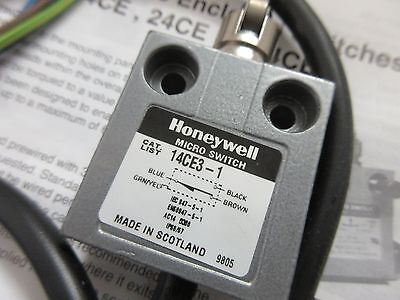 14CE3-1 Honeywell Cross Roller Plunger limit switch, 5A, 240V, 11.8N, BOXED!