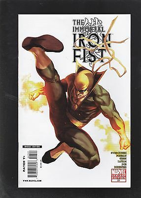 Immortal Iron Fist #27 70th Anniversary Variant Cover! Fall The House of Rand!