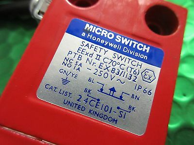 24CE101-S1 Honeywell Micro Switch, Safety Switch, NEW BOXED.IP66