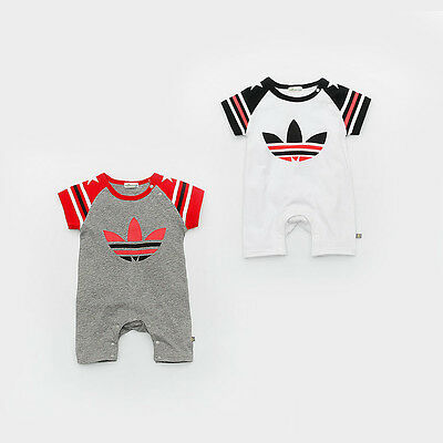 2017 Baby Patchwork Summer Romper Baby Infant Boy Girl Babygrow Outfits Clothes