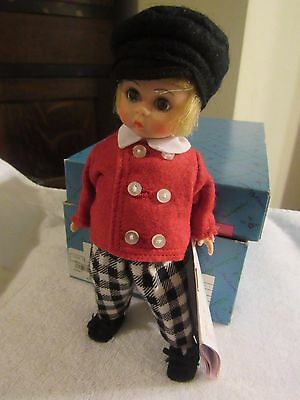 "Madame Alexander Tommy Snooks 8"" Doll 447 With Original Box"