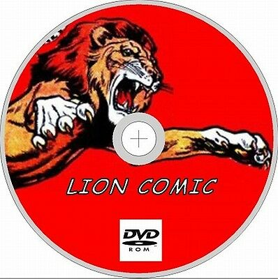 Lion Comics 550+ Assorted Issues between 1-957 + Annuals & Specials on 2 Dvd