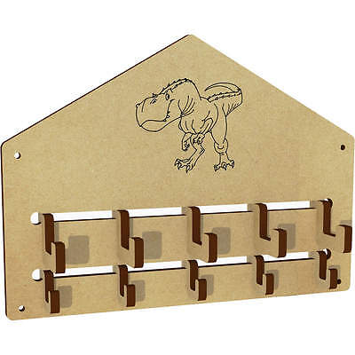 'T-Rex Dinosaur' Wall Mounted Coat Hooks / Rack (WH00002956)