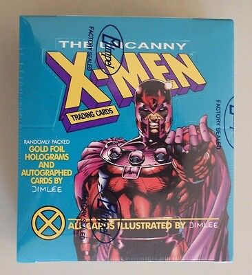 1992 Impel The Uncanny X-Men Sealed Trading Card Box