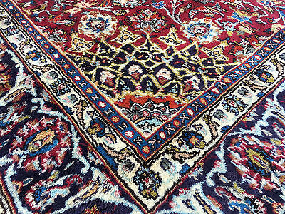 6x9 HAND KNOTTED WOVEN PERSIAN RUG IRAN WOOL 6 x 10 antique area rugs 7 9 11 8