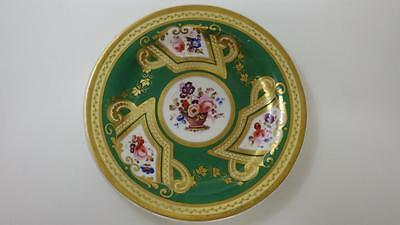 "Beautiful Early Victorian Hand Painted Cabinet Plate 8"" Possibly Coalport c1850"