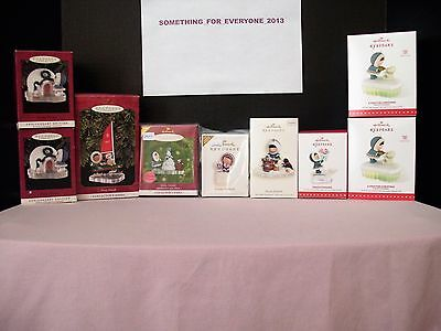 Hallmark Frosty Friends Ornament Lot Most New And 3 Used Ornaments Are Mint