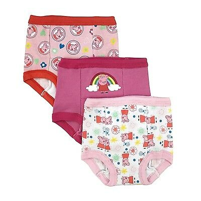 Peppa Pig Toddler Girls' 3pk Training Pant