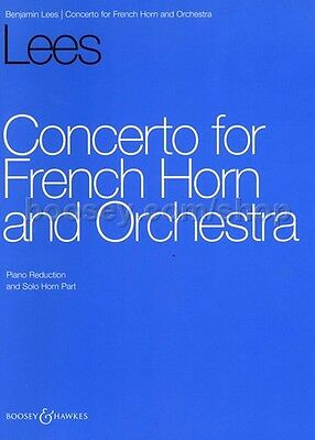 Concerto for Horn and Orchestra - Horn and Orchestra - Study Score - [ Konzert f